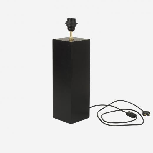 Lampefod Grafic-square black
