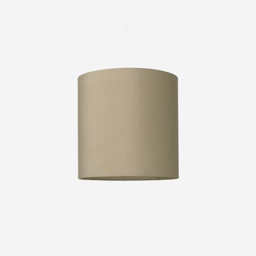 Lampeskærm, råsilke, kit 40x39
