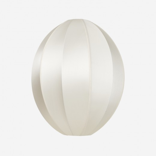 Lampeskærm Indochina Offwhite Oval B