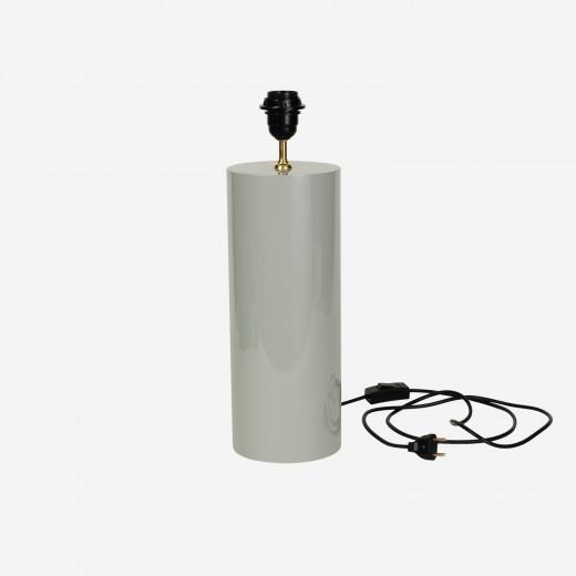 Lampefod round dustygreen, S