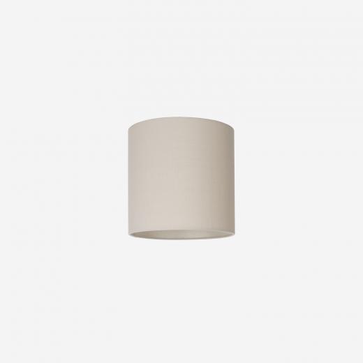Lampeskærm råsilke sand 25x25 cm