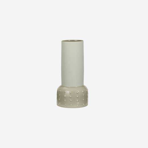 Keramik vase S light olive