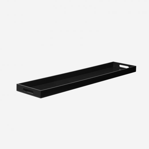 Lakbakke 110x24 black