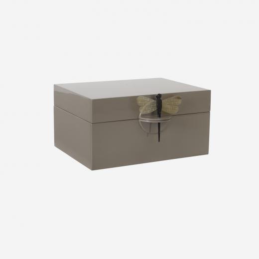Lakskrin XL brown grey