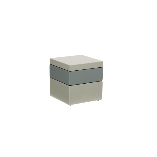 Box it square dusty green/dove blue/dusty green