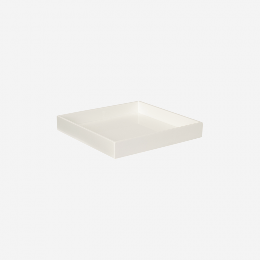 Lakbakke 20x20 white