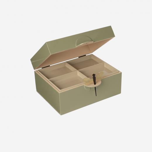 Lakskrin XL olive-01