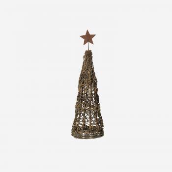 Juletræ af små grene m stjerne S-20