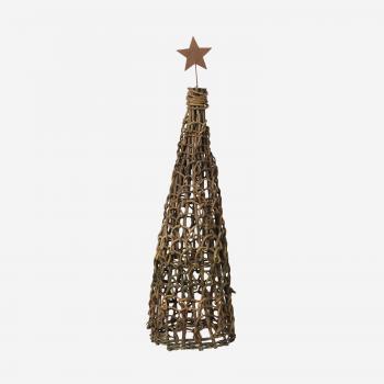 Juletræ af små grene med stjerne B-20