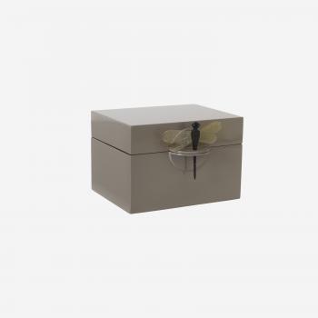 Lakskrin B brown grey-20