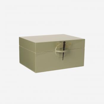 Lakskrin XL olive-20