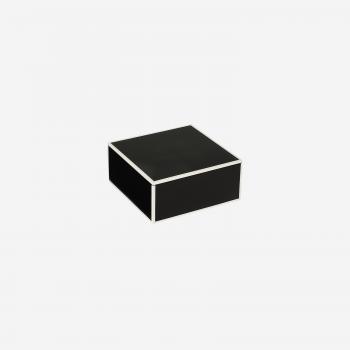 Flat lakskrin med indvendige rum S black-20
