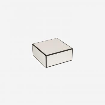 Flat lakskrin med indvendige rum S white-20