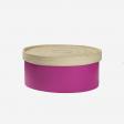 Bambus æske M Pink