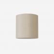 Lampeskærm, råsilke, kit 30x30
