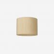 Lampeskærm, råsilke, wheaten 40x30