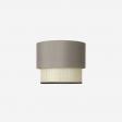 Lampeskærm Paris-2 grey