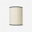 Lampeskærm råsilke offwhite 30x39 cm