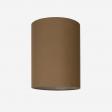 Lampeskærm råsilke dark amber 30x39