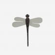 Dragonfly stick grey