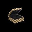 Lakskrin med striber og rum skin/army