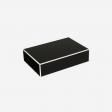Flat lakskrin med indvendige rum B black
