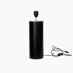 Lampefod round mat black, S