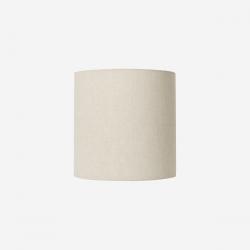 Lampeskærm hør 30x30