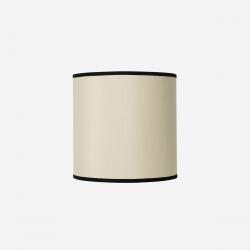 Lampeskærm råsilke offwhite 30x30