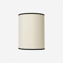 Lampeskærm råsilke offwhite 30x39