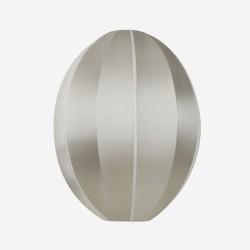 Lampeskærm Indochina Grå Oval B