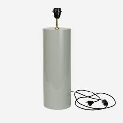 Lampefod round dustygreen, B