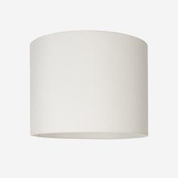 Lampeskærm råsilke hvid 40x30