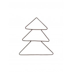 Metal juletræ M