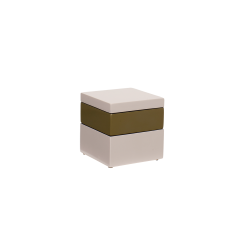 Box it square baby pink/army/baby pink